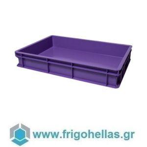 VAS010 (60x40x10cm - 19Lt) Επαγγελματικά Δοχεία Τροφίμων Μωβ (RAL4005)