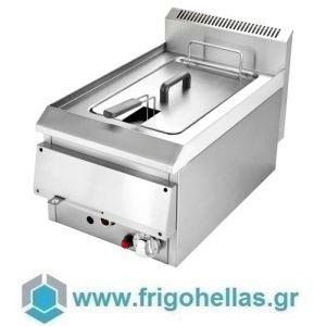 VRETTOS DIONE 1 (8 Lit) Επιτραπέζια Φριτέζα Φυσικού Αερίου Μονή  - 10Kw (Υποστηρίζεται από εξουσιοδοτημένο Service)