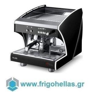 WEGA Polaris EVD/1 + SPIW Matt Black Αυτόματη Δοσομετρική Μηχανή Espresso Μαύρη ( Groups: 1 ) (Υποστηρίζεται από εξουσιοδοτημένο Service)