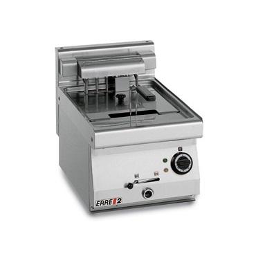 ERRE2 FG64700 T Επαγγελματική Φριτέζα Ηλεκτρική 8Lit - 6,6Kw - 380Volt (Ιταλίας) επαγγελματικός εξοπλισμός   κουζίνες πλατό φριτέζες βραστήρες  επαγγελματικός εξ