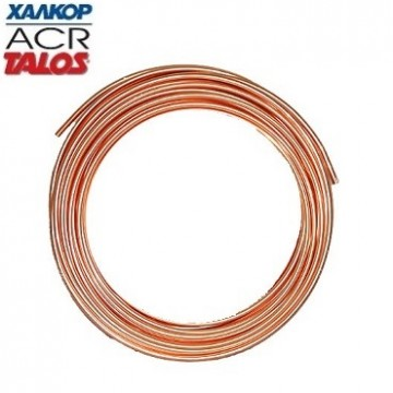 """ΧΑΛΚΟΡ 21028038675 (7m) Χαλκοσωλήνας 1/2"""" Ψυκτικός 1/2""""x0.80 - 12.7x0.80 (Τιμή γ υλικά εγκαταστάσεων   χαλκός   χαλκοσωλήνες  υλικά εγκαταστάσεων   χαλκός   χαλκ"""
