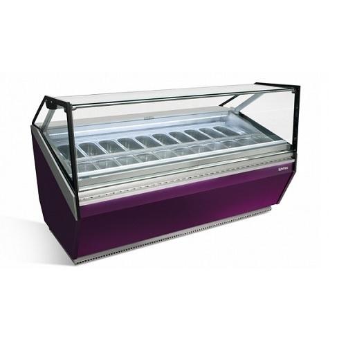 INFRICO VCB 12H Επαγγελματικό Ψυγείο Βιτρίνα Παγωτού Χωρητικότητα: 14 Λεκανάκια- dailydeal  επαγγελματικός εξοπλισμός   επαγγελματικά ψυγεία   βιτρίνες παγωτού