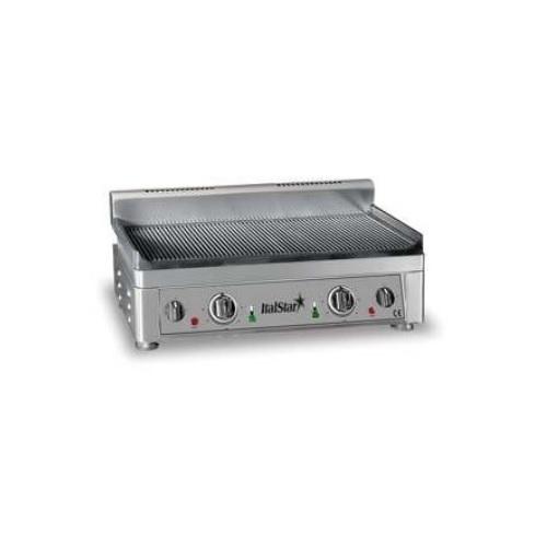 ItalStar 058.0008 Ηλεκτρικό Πλατό Εστία Ψησίματος Ραβδωτό - 560x340x300mmm επαγγελματικός εξοπλισμός   φούρνοι μικροκύματα κρεπιέρες βαφλιέρες φριτέζες   π
