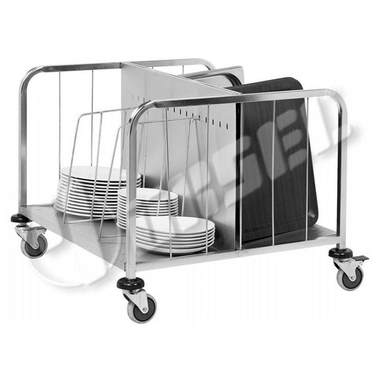 PORTASHELF MT102X Καρότσι Ανοξείδωτο Μεταφοράς και Αποθήκευσης Πιάτων Εξ.διαστάσ επαγγελματικός εξοπλισμός   καρότσια  επαγγελματικός εξοπλισμός   χειραμάξια τρό