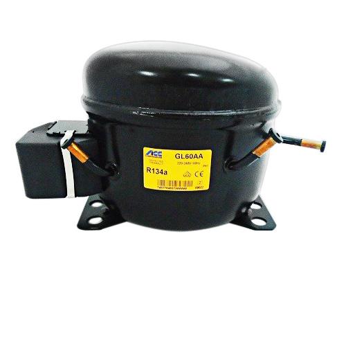 ACC Cubigel GL60AA (1/6HP / 230Volt / R134a) Κομπρεσέρ Ψυγείων Κατάψυξης (ex Ele συμπιεστές   cubigel compressors  ex electrolux  συμπιεστές   cubigel compressor
