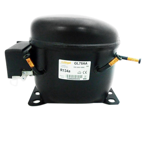 ACC Cubigel GL75AA (1/5HP / 230Volt / R134a) Κομπρεσέρ Ψυγείων Κατάψυξης (ex Ele home page   best price   συμπιεστές  συμπιεστές   cubigel compressors  ex electr