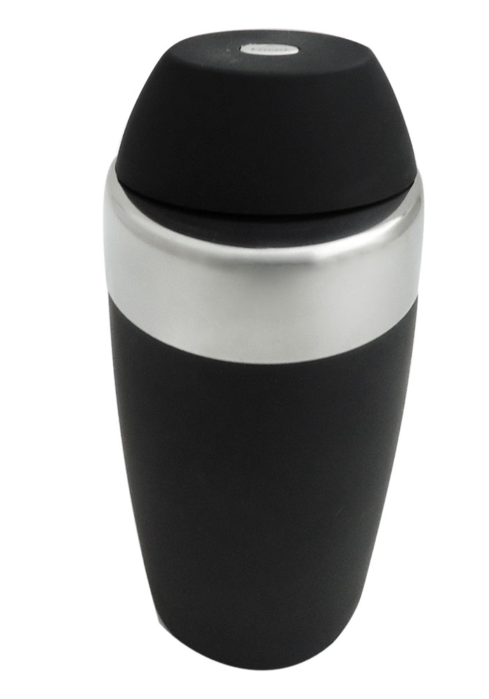 Lacor 62369 Σέηκερ Μαύρο 0,50Lit - Ø90x200mm επαγγελματικός εξοπλισμός   επαγγελματικά σκεύη είδη σερβιρίσματος   εξαρτήματα