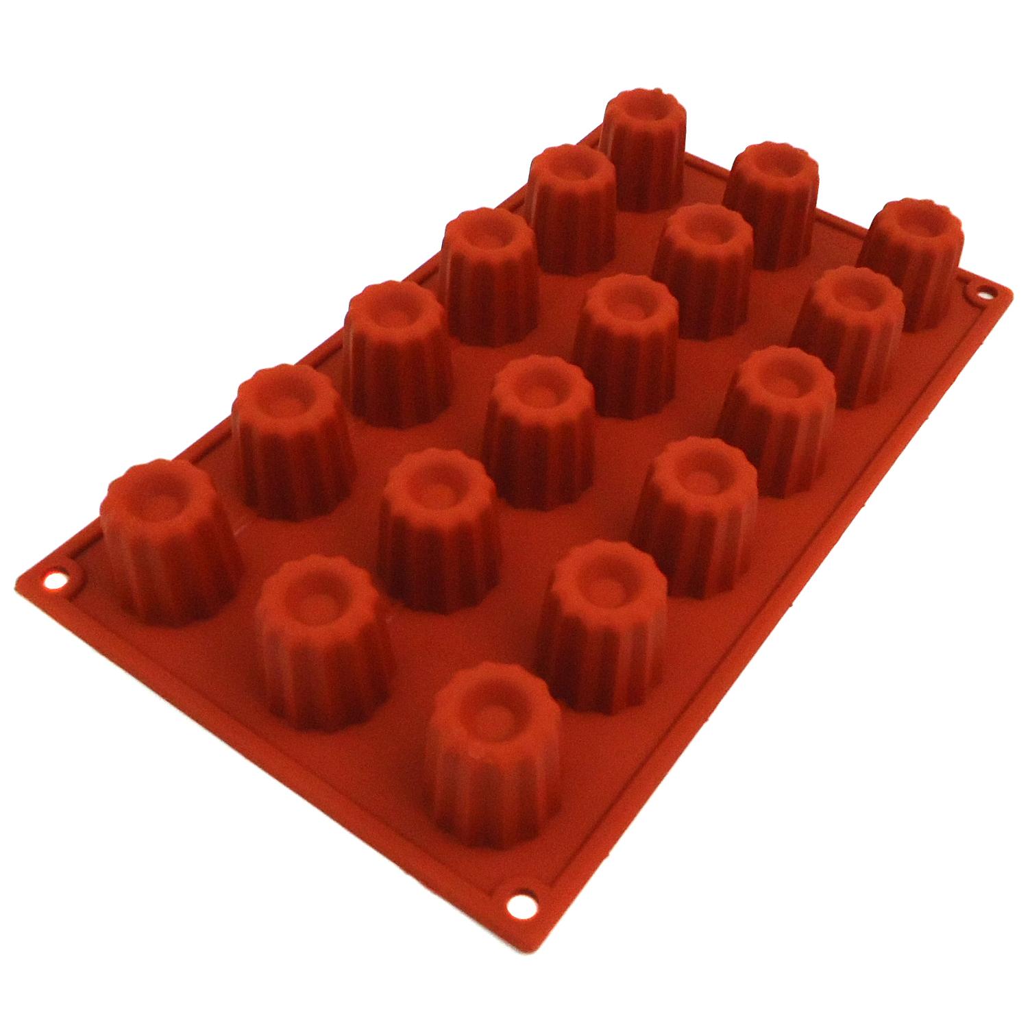 Lacor 66744 Αντικολλητικές Φόρμες Ψησίματος Σιλικόνης Mini Bordelais 18 Θέσεων Ø επαγγελματικός εξοπλισμός   επαγγελματικά σκεύη είδη σερβιρίσματος   εξαρτήματα