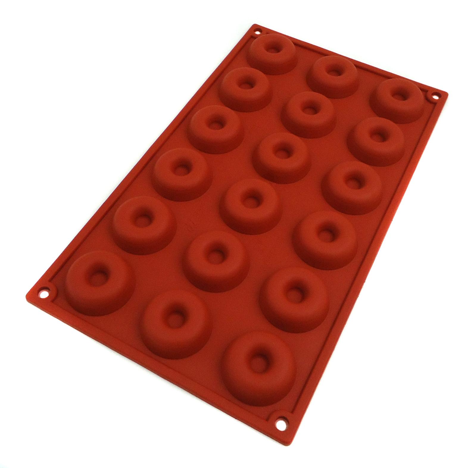 Lacor 66808 Αντικολλητικές Φόρμες Σιλικόνης Mini Savarin 18 Θέσεων Ø41x12mm επαγγελματικός εξοπλισμός   επαγγελματικά σκεύη είδη σερβιρίσματος   εξαρτήματα