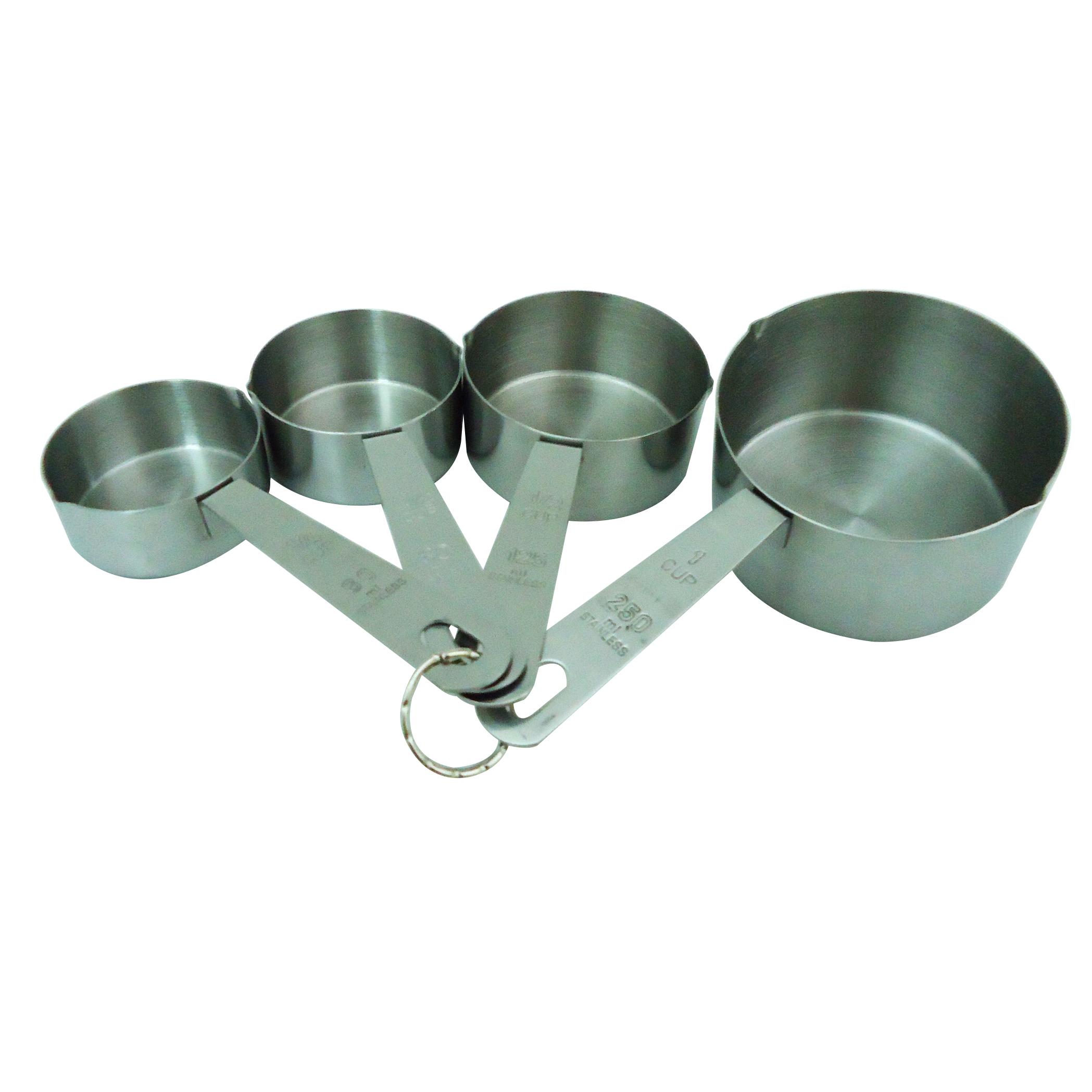 Lacor 67007 Σετ 4 Τεμαχίων Μεζούρες 60-80-125-250 ml επαγγελματικός εξοπλισμός   επαγγελματικά σκεύη εργαλεία κουζίνας μαχαίρια είδη