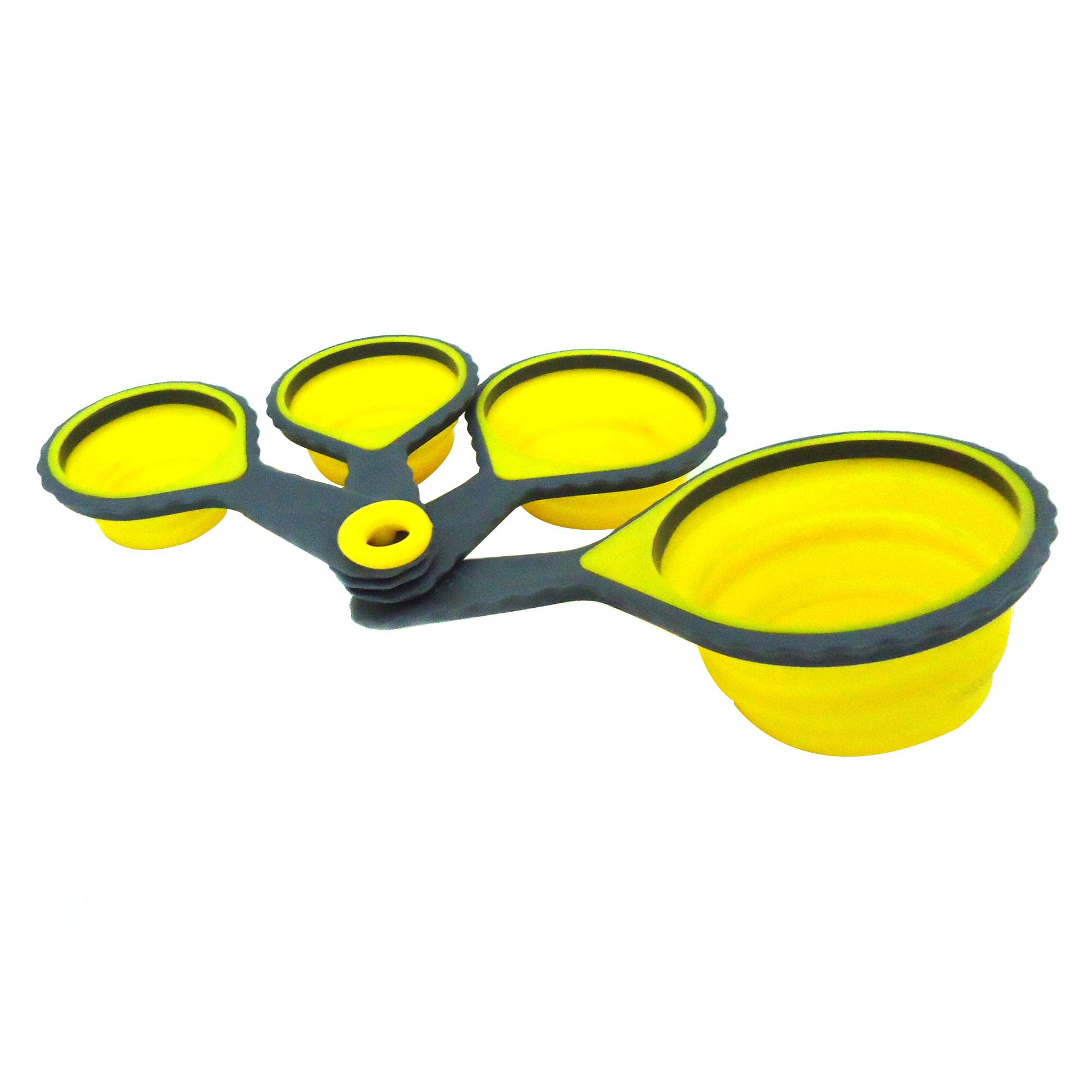 Lacor 67024 Σετ Κουτάλια Μεζούρες Σιλικόνης επαγγελματικός εξοπλισμός   επαγγελματικά σκεύη είδη σερβιρίσματος   εργαλεία κο