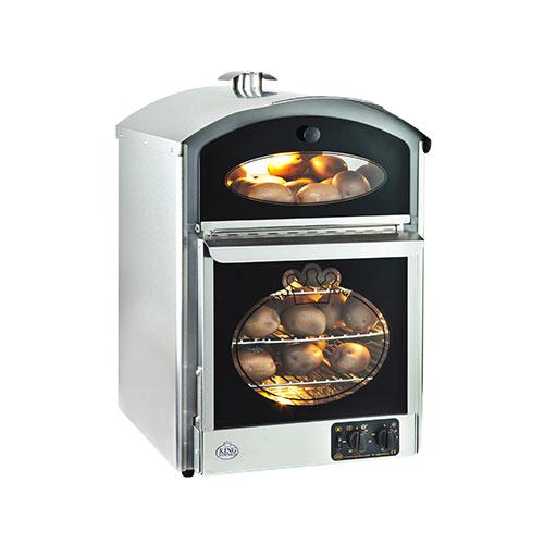 Neumarker 05-51214 Bake King Φούρνος για Ψητές Πατάτες - 510x580x750mm black week προσφορές   φούρνοι πατάτας  επαγγελματικός εξοπλισμός   φούρνοι μικρ