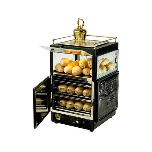 Neumarker 05-51241 Queen Marie Φούρνος για Ψητές Πατάτες - 430x430x700mm black week προσφορές   φούρνοι πατάτας  επαγγελματικός εξοπλισμός   φούρνοι μικρ