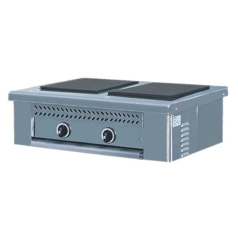 NORTH PRO GAS E2-P Ηλεκτρική Επιτραπέζια Κουζίνα - 790x490x290mm επαγγελματικός εξοπλισμός   κουζίνες πλατό φριτέζες βραστήρες  επαγγελματικός εξ