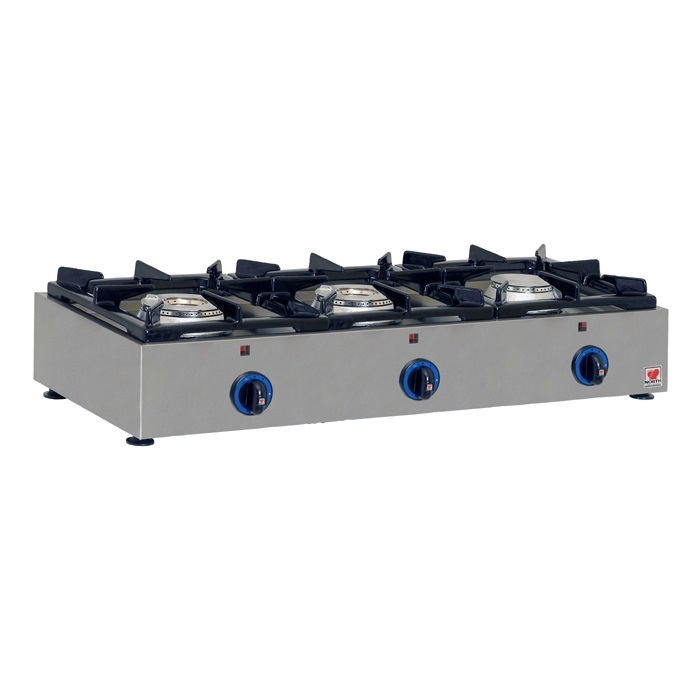 NORTH PRO GAS GAS E23 Επιτραπέζιο Φλόγιστρο Υγραερίου - 930x365x160mm επαγγελματικός εξοπλισμός   κουζίνες πλατό φριτέζες βραστήρες  επαγγελματικός εξ