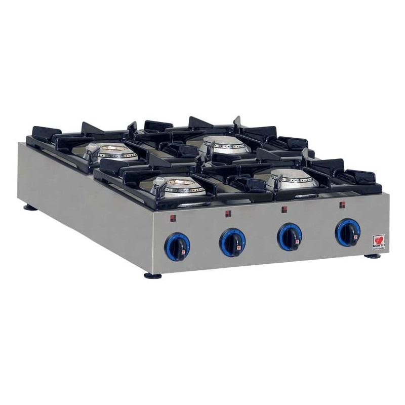 NORTH PRO GAS GAS E24 Επιτραπέζιο Φλόγιστρο Υγραερίου - 625x700x160mm επαγγελματικός εξοπλισμός   κουζίνες πλατό φριτέζες βραστήρες  επαγγελματικός εξ