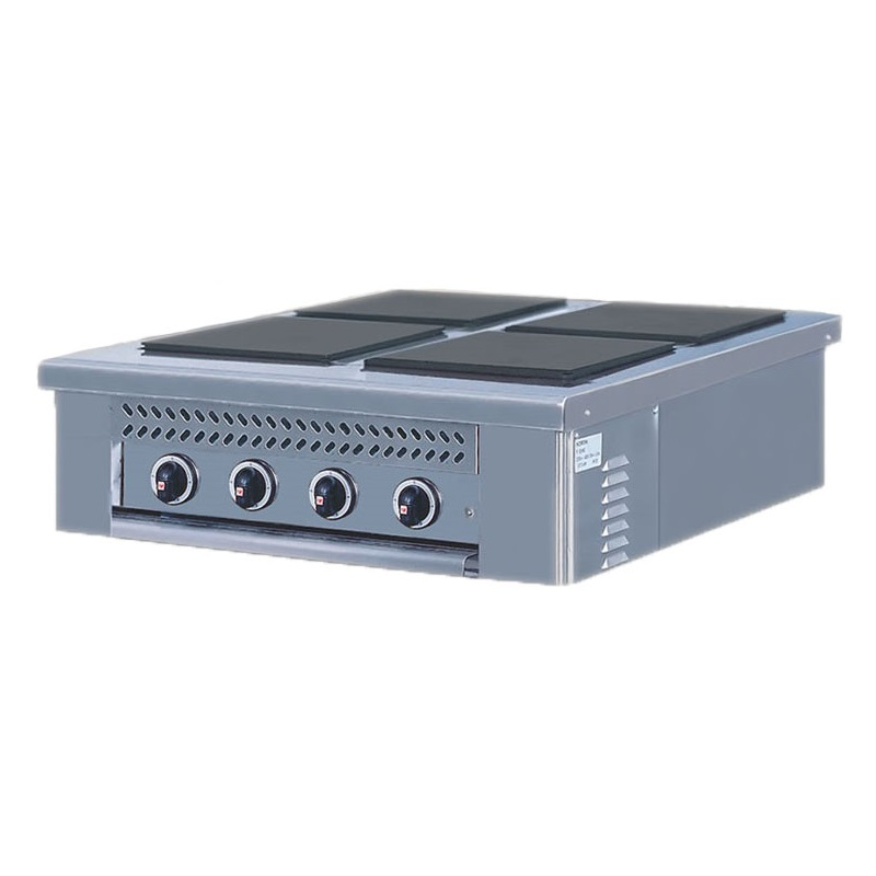 NORTH E4 Ηλεκτρική Επιτραπέζια Κουζίνα - 790x860x290mm επαγγελματικός εξοπλισμός   κουζίνες πλατό φριτέζες βραστήρες   north pro gas  ε