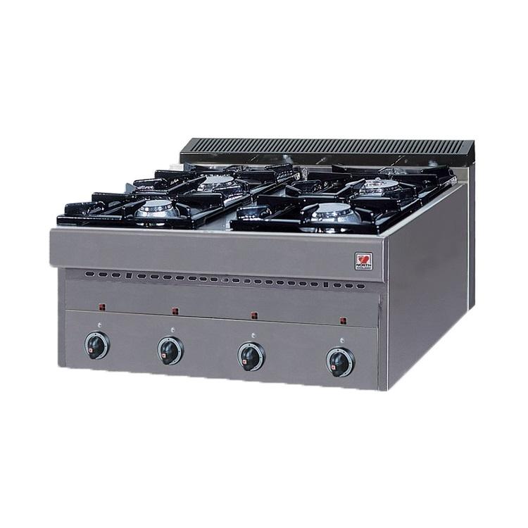 NORTH PRO GAS GAS E4 Επιτραπέζιο Φλόγιστρο Υγραερίου - 800x700x430mm επαγγελματικός εξοπλισμός   κουζίνες πλατό φριτέζες βραστήρες  επαγγελματικός εξ