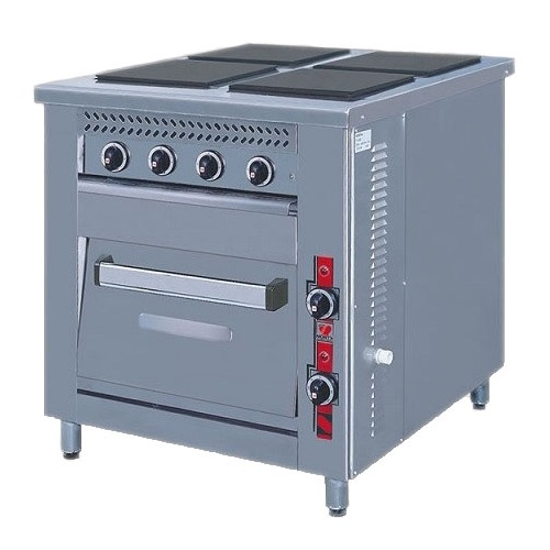 NORTH PRO GAS F80 E4 Ηλεκτρική Επιδαπέδια Κουζίνα - 790x860x875mm επαγγελματικός εξοπλισμός   κουζίνες πλατό φριτέζες βραστήρες  επαγγελματικός εξ