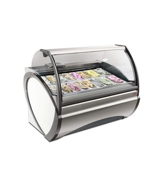 Oscartielle DORADO 9.71.10.00 Επαγγελματικά Ψυγεία Βιτρίνες Παγωτού για 12 Λεκαν επαγγελματικός εξοπλισμός   επαγγελματικά ψυγεία  επαγγελματικός εξοπλισμός   επ