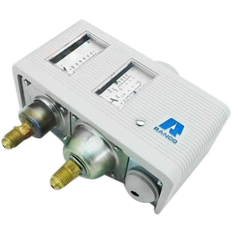 RANCO 017H-4701 Πιεσοστάτης Υψηλής & Χαμηλής Πίεσης Με Auto Reset (Υψηλή: 7-30 B εξαρτήματα ψύξης   κλιματισμός   πιεσοστάτες μηχανικοί  εξαρτήματα ψύξης   κλιμα