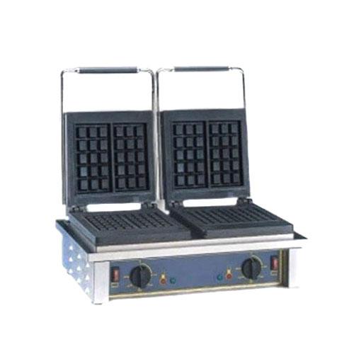 ROLLER GRILL GED10 Βαφλιέρα Συσκευή για Βάφλες Διπλή - Διαστάσεις Πλάκας: 252x25 black week προσφορές   βαφλιέρες  επαγγελματικός εξοπλισμός   φούρνοι μικροκύματ
