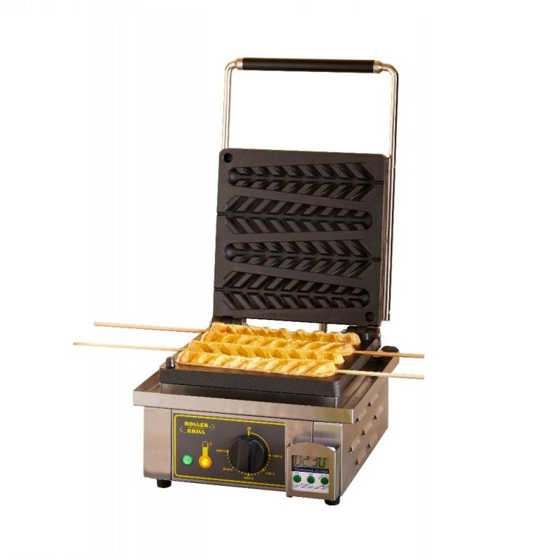 ROLLER GRILL GES23 Βαφλιέρα Συσκευή για Βάφλες Corn Σε Ξυλάκι Μονή - Διαστάσεις  black week προσφορές   βαφλιέρες  επαγγελματικός εξοπλισμός   φούρνοι μικροκύματ