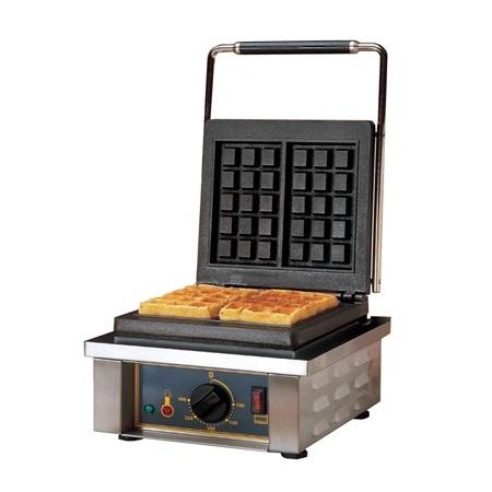 ROLLER GRILL GES10 Βαφλιέρα Συσκευή για Βάφλες Μονή - Διαστάσεις Πλάκας: 252x252 επαγγελματικός εξοπλισμός   φούρνοι μικροκύματα κρεπιέρες βαφλιέρες φριτέζες  επ