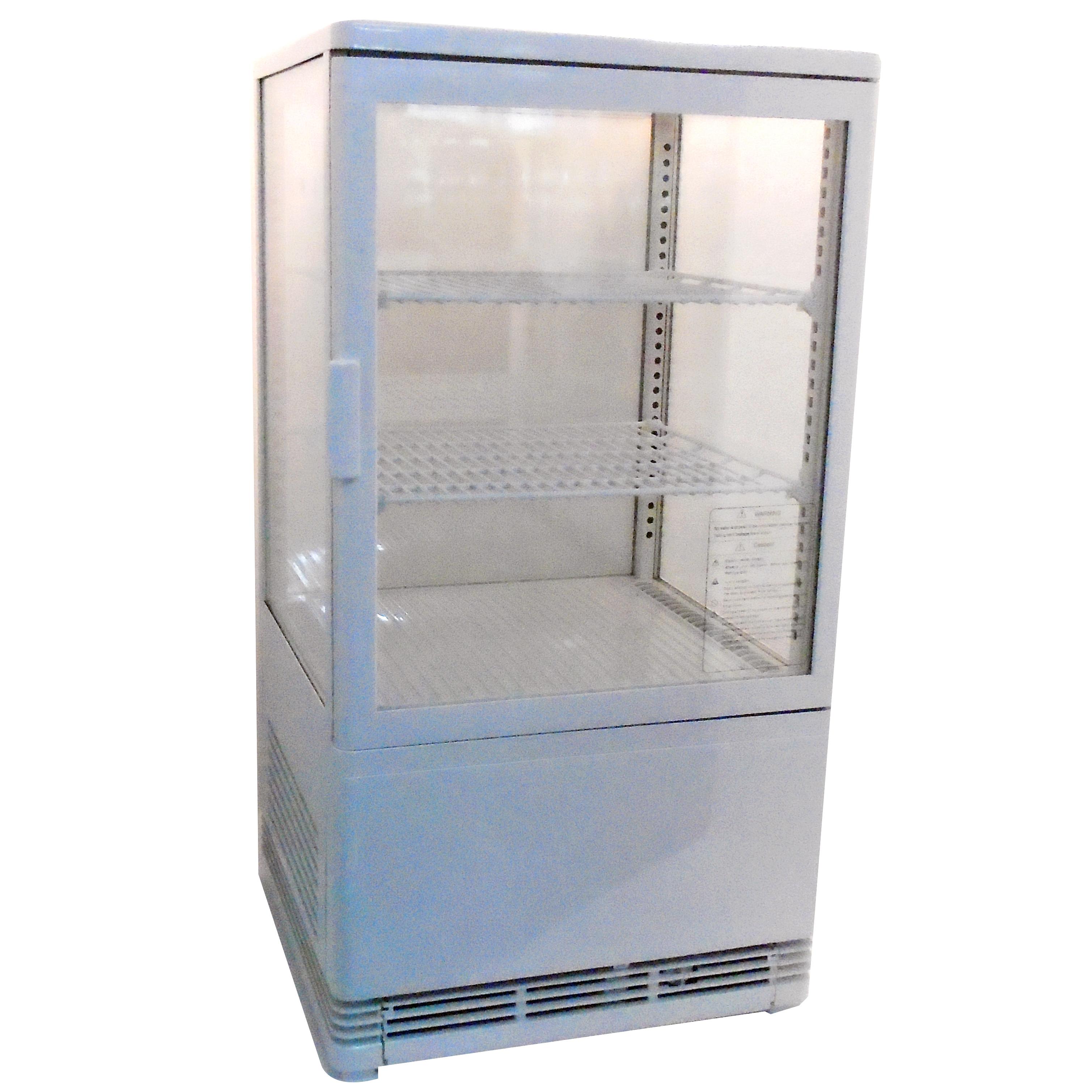 RT-58L White Επιτραπέζιο Επαγγελματικό Ψυγείο Βιτρίνα 58Lit Χρώμα: Λευκό - (ΜxΠx home page   δημοφιλή  επαγγελματικός εξοπλισμός   επαγγελματικά ψυγεία   βιτρινά
