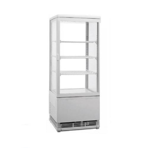 RT-78L Silver Επιτραπέζιο Επαγγελματικό Ψυγείο Βιτρίνα 78Lit Χρώμα: Ασημί - (ΜxΠ επαγγελματικός εξοπλισμός   επαγγελματικά ψυγεία   όλα τα ψυγεία αναψυκτικών  επ