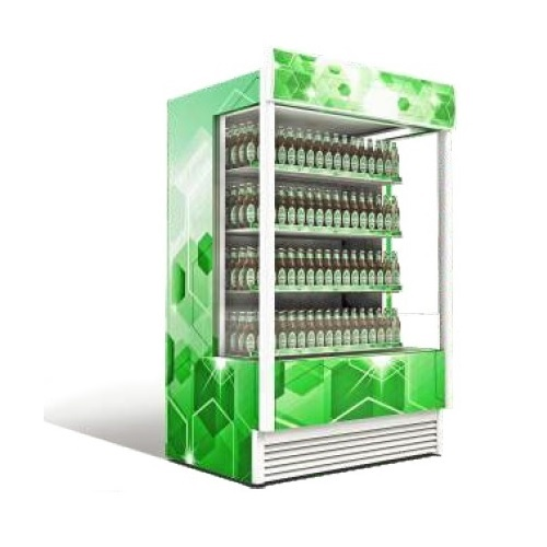 Sanden Intercool Thailand SSO-1200 (1200lit) Επαγγελματικό Ψυγείο Self Service-Λ επαγγελματικός εξοπλισμός   επαγγελματικά ψυγεία   sanden intercool thailand  επ