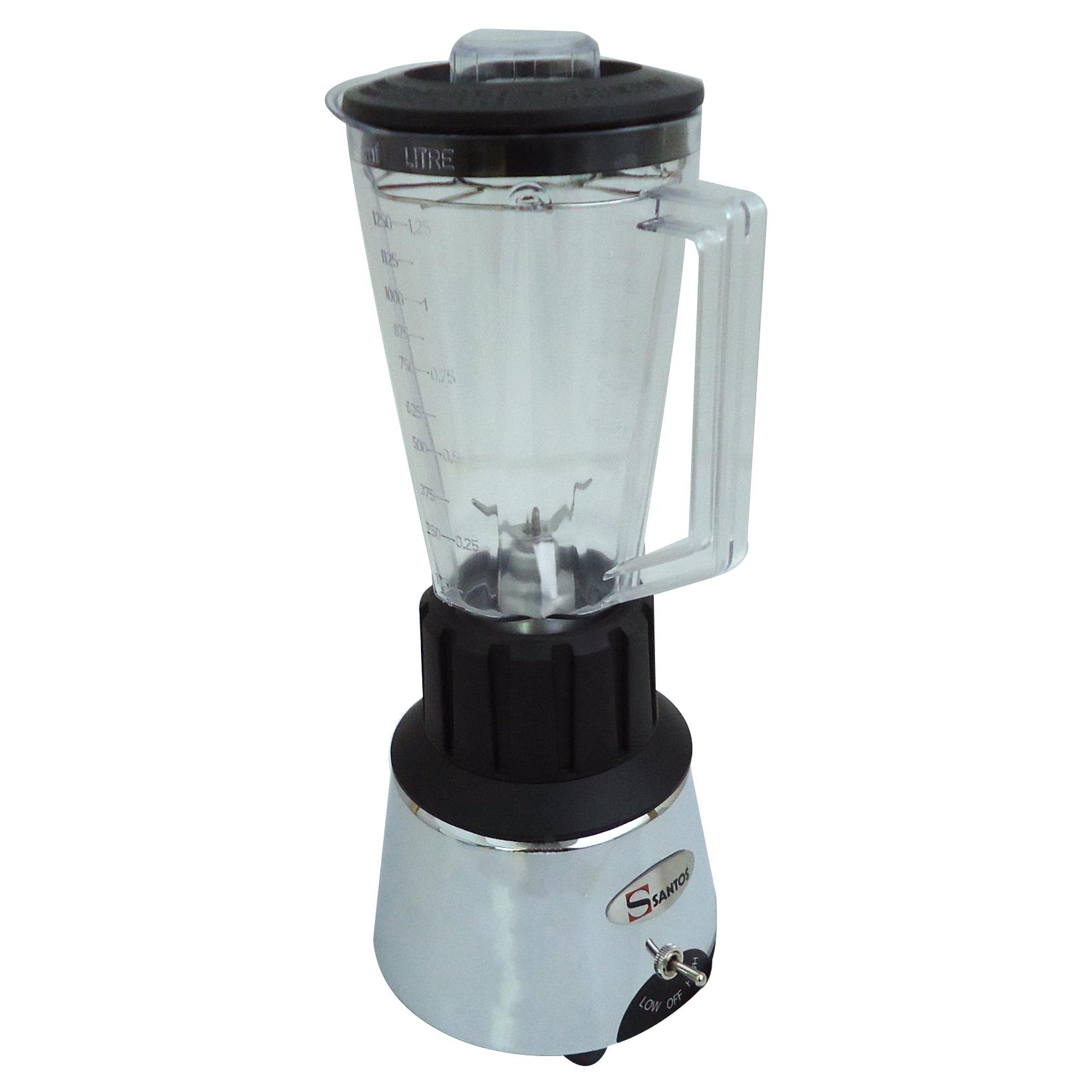 Santos No33C Μπλέντερ Χρώμιο Με Polycarbonate Κανάτα 1,25Lit - Ισχύς: 600Watt (Γ προσφορές   επαγγελματικός εξοπλισμός  επαγγελματικός εξοπλισμός   μηχανές καφέ