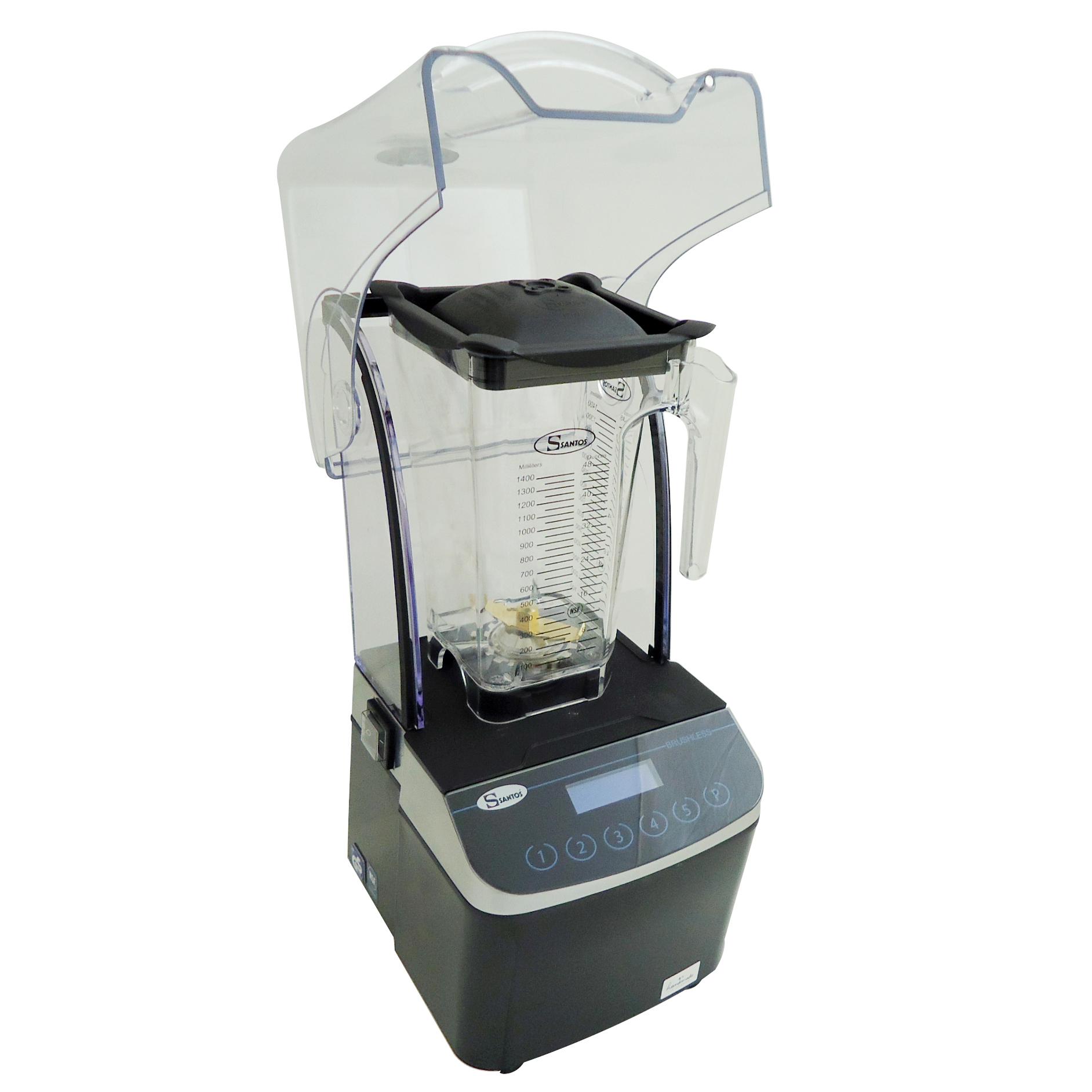 Santos No62 Brushless Blender Αθόρυβο Μπλέντερ Ηλεκτρικό 3.000 Watt - Χωρητικότη επαγγελματικός εξοπλισμός   μηχανές καφέ   συσκευές για bar   μπλέντερ   santos