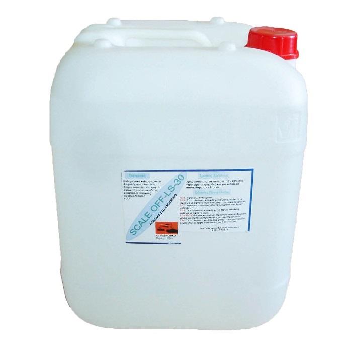 SCALE OF LS30 Καθαριστικό Αλάτων Κατάλληλο & Για Πύργους Ψύγης (Τιμή για δοχείο  υλικά εγκαταστάσεων   καθαριστικά αλάτων   προσφορές   φρέον χαλκός υλικά ψυκτικ