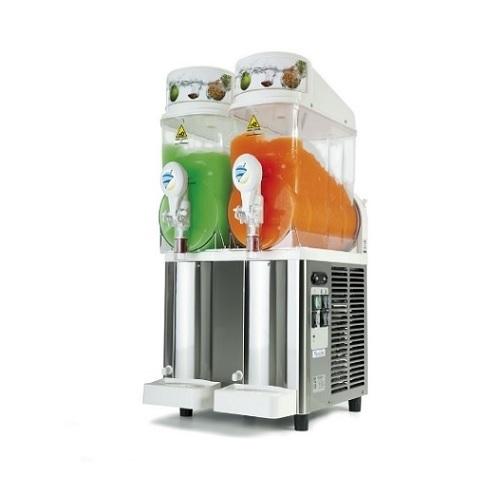 Sencotel Fast Freeze 2x12 Γρανιτομηχανη με 2 Κάδους (2x12Lit) black week προσφορές   γρανιτομηχανές  επαγγελματικός εξοπλισμός   μηχανές καφέ