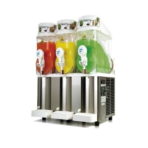 Sencotel Fast Freeze 3x12 Γρανιτομηχανη με 3 Κάδους (3x12Lit) black week προσφορές   γρανιτομηχανές  επαγγελματικός εξοπλισμός   μηχανές καφέ