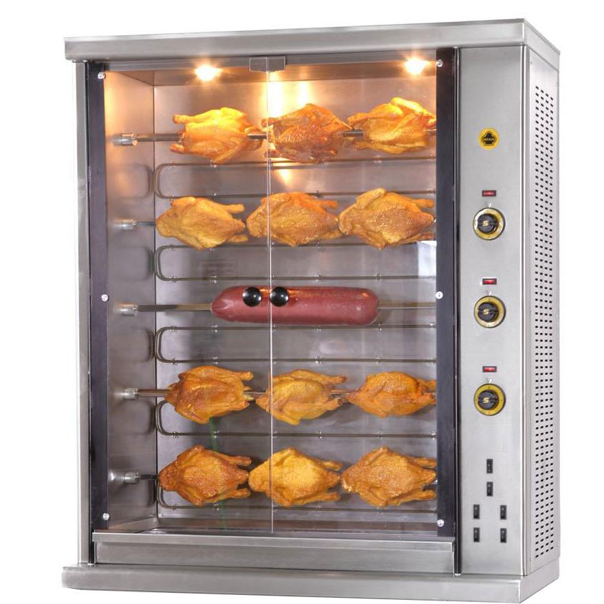 SERGAS SE5 Επιτραπέζια Ηλεκτρική Κοτοπουλιέρα - Χωρητικότητα: 20-25 Κοτόπουλα επαγγελματικός εξοπλισμός   κουζίνες πλατό φριτέζες βραστήρες   κοτοπουλιέρες  ε