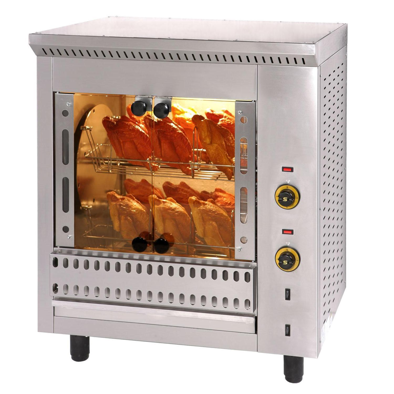 SERGAS T16 Επιτραπέζια Ηλεκτρική Κοτοπουλιέρα με Περιστρεφόμενα Καλαθάκια - Χωρη επαγγελματικός εξοπλισμός   κουζίνες πλατό φριτέζες βραστήρες   κοτοπουλιέρες