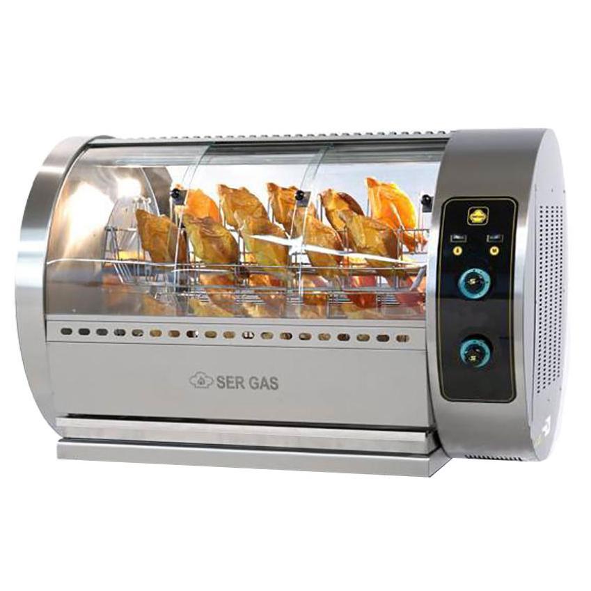 SERGAS T30 Επιτραπέζια Ηλεκτρική Κοτοπουλιέρα με Περιστρεφόμενα Καλαθάκια - Χωρη επαγγελματικός εξοπλισμός   κουζίνες πλατό φριτέζες βραστήρες   κοτοπουλιέρες  ε