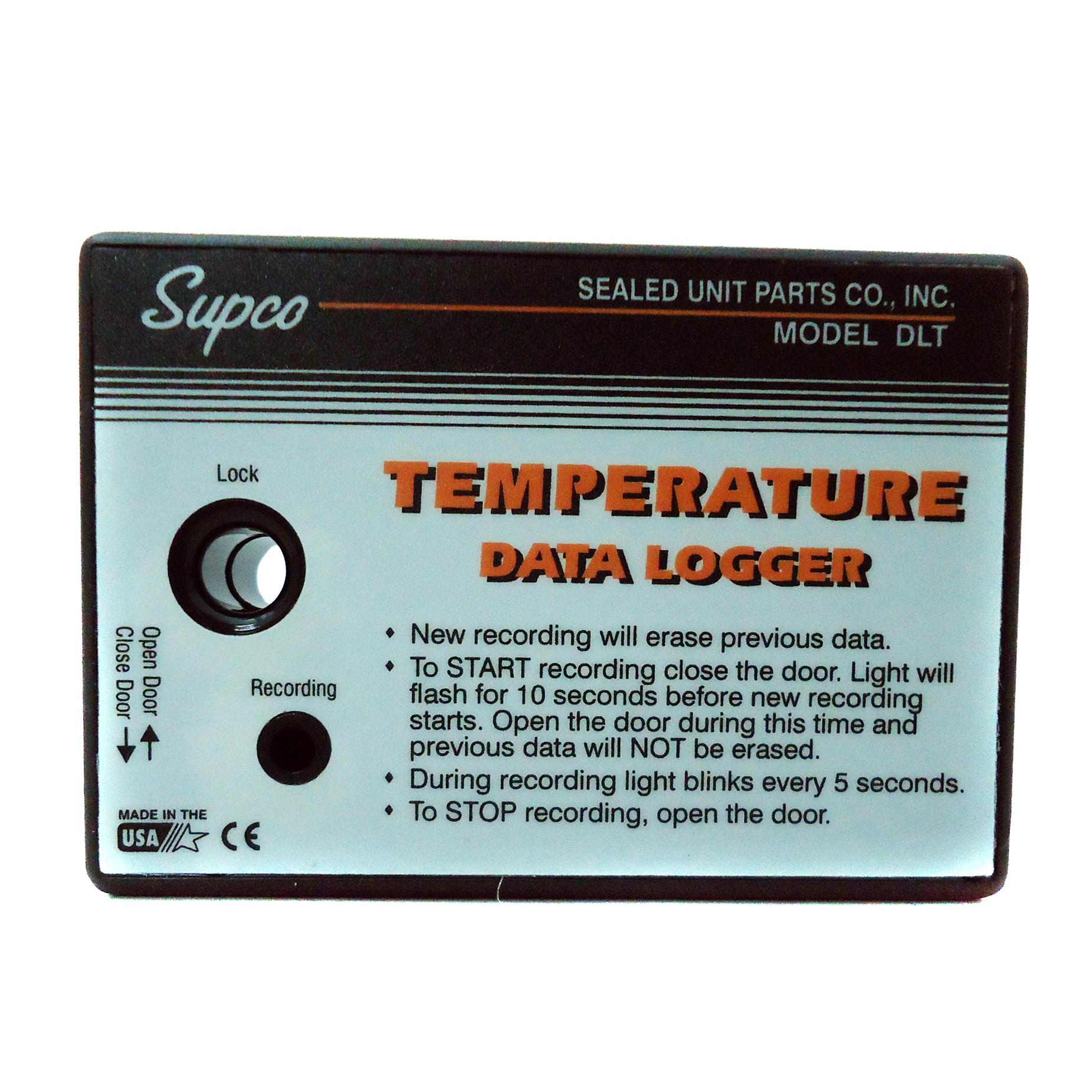 SUPCO DATA LOGGER DLT Καταγραφικό Θερμοκρασίας με εσωτερικό αισθητήρα προσφορές   αυτοματισμοί  home page   best price   αυτοματισμοί  αυτοματισμοί