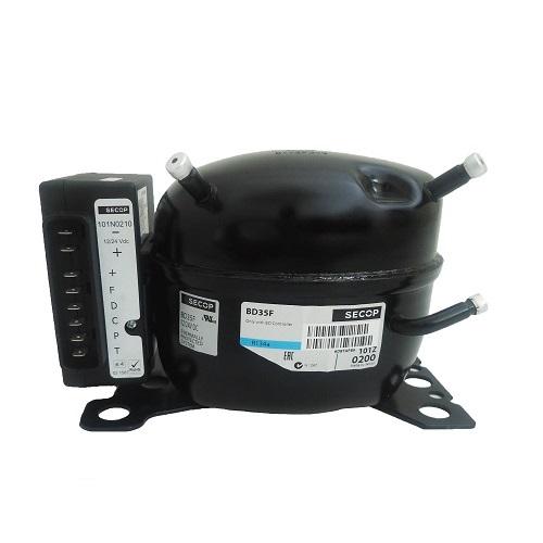 SECOP (Danfoss) BD80F (12-24Volt DC / R134a) Κομπρεσέρ Ψυγείων Αυτοκινήτων & Κότ συμπιεστές   secop danfoss συμπιεστές 12 24volt
