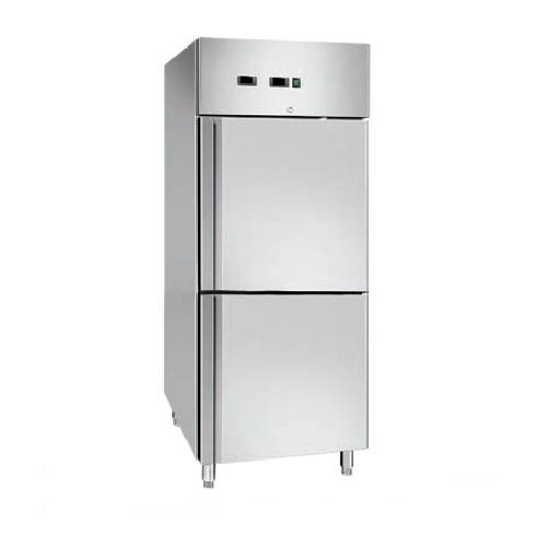 GN600 DTV Επαγγελματικό Ψυγείο Θάλαμος Συντήρησης/Κατάψυξης Inox 300+300 Lit - 6 επαγγελματικός εξοπλισμός   επαγγελματικά ψυγεία   ψυγεία θάλαμοι inox  επαγγελμ