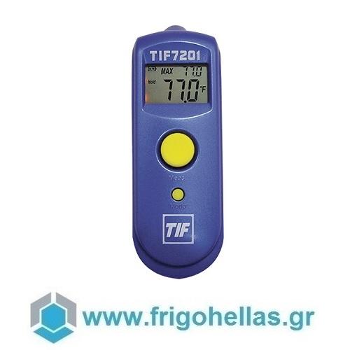 TIF 7201 Ψηφιακό Θερμόμετρο Υπερύθρων Επαφής (Ακρίβεια Μέτρησης: 1:1) εργαλεία για ψυκτικούς   θερμόμετρα   υγρασιόμετρα  εργαλεία για ψυκτικούς   θερ