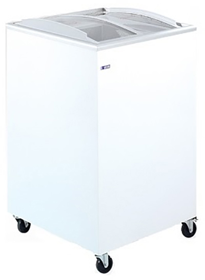 UGUR UDD200SCB Επαγγελματικά Ψυγεία Καταψύκτες με Κουρμπαριστά Συρόμενα Τζάμια 1 επαγγελματικός εξοπλισμός   επαγγελματικά ψυγεία   καταψύκτες με συρόμενα τζάμια