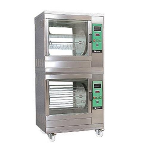 UNIVERSO SRL GVE 624/2 Κοτοπουλιέρες Επιδαπέδιες Ηλεκτρικές Θερμού Αέρα για 48-6 επαγγελματικός εξοπλισμός   γυριέρες κοτοπουλιέρες αρνιέρες θερμαντικά  επαγγελμ