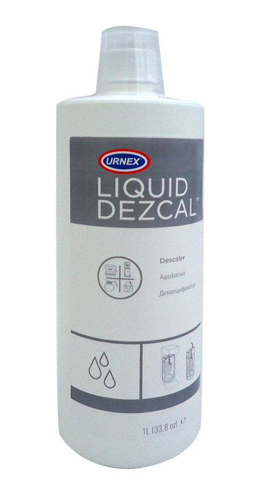 URNEX Liquid Dezcal 1Lit Υγρό Καθαριστικό Αλάτων Για Μηχανές Καφέ (Περιεχόμενο:  επαγγελματικός εξοπλισμός   μηχανές καφέ   συσκευές για bar   μηχανές καφέ καθαρ