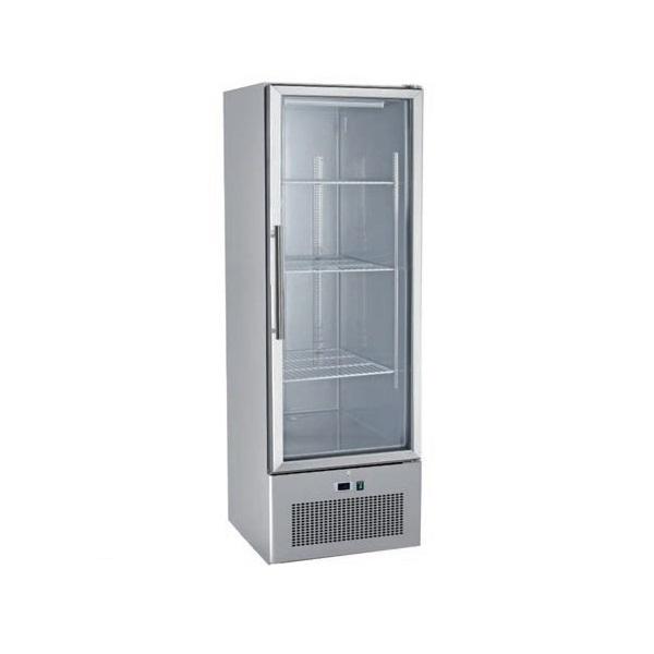 SNACK 400 SBTG Επαγγελματικό Ψυγείο Βιτρίνα Κατάψυξης 429Lit - 680x710x2010mm επαγγελματικός εξοπλισμός   επαγγελματικά ψυγεία   όρθιες βιτρίνες κατάψυξης  επ