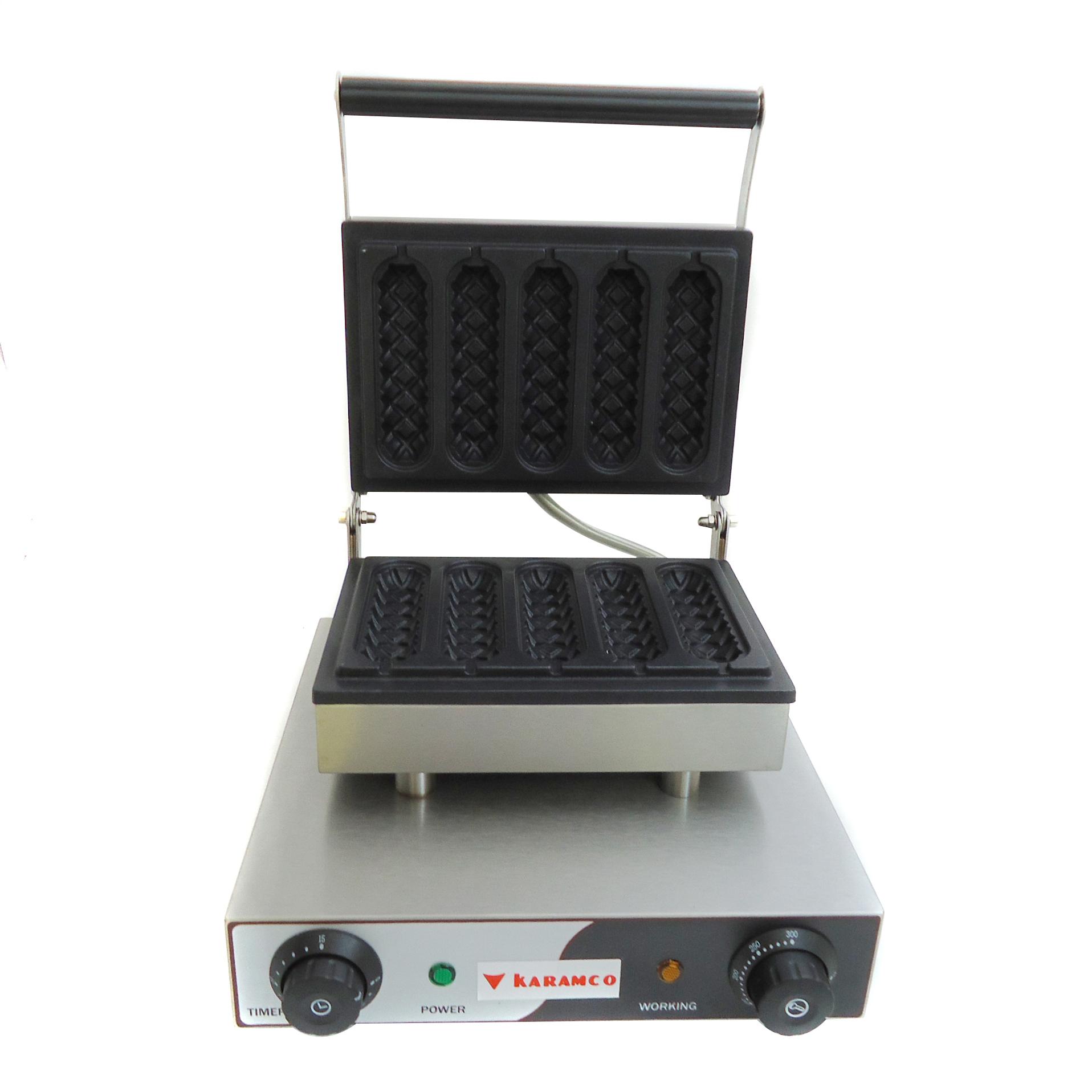 WB15 Βαφλιέρα Συσκευή για Βάφλες Μονή για Βάφλα Μπαγκέτα - Διαστάσεις Πλάκας: 27 επαγγελματικός εξοπλισμός   φούρνοι μικροκύματα κρεπιέρες βαφλιέρες φριτέζες   β