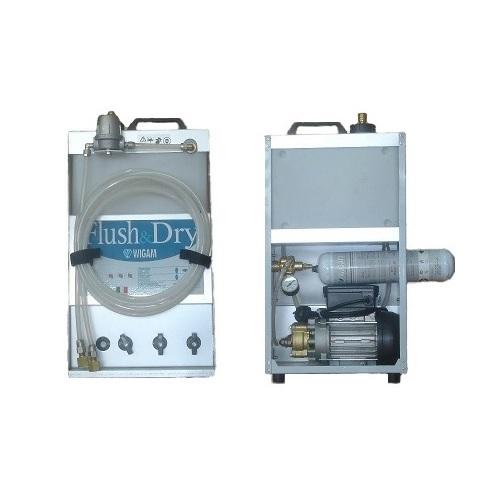 Wigam FLUSH & DRY-A/C Σταθμός Καθαρισμού Κλιματιστικών Μηχανημάτων (13005038002) εργαλεία για ψυκτικούς   σταθμός καθαρισμού ψυκτικών κυκλωμάτων  προσφορές   εργ