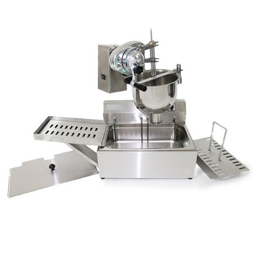 FrigoHellas OEM 1021V Σέτ Χειροκίνητη Μηχανή Λουκουμά με Φριτέζα 14Lit - Λουκουμ επαγγελματικός εξοπλισμός   συσκευές επεξεργασίας τροφίμων   λουκουμαδομηχανές